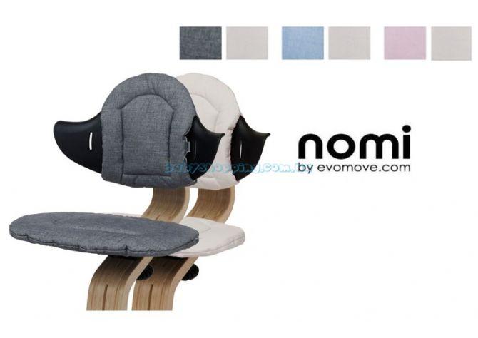 Мягкие чехлы для стульчика Evomove Nomi  ����, �������� | Babyshopping