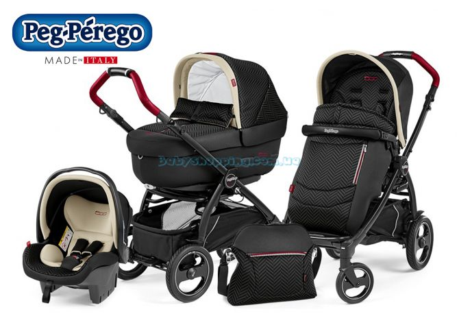 Универсальная коляска 3 в 1 Peg-Perego Book 500 Elite Completo Modular, 2018 фото, картинки | Babyshopping