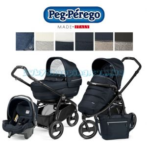 Универсальная коляска 3 в 1 Peg-Perego Book Scout Elite Completo Modular 2018 Luxe Collection  фото, картинки | Babyshopping