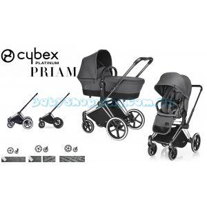 Универсальная коляска 2 в 1 Cybex Priam Platinum Lux, 2018 фото, картинки | Babyshopping