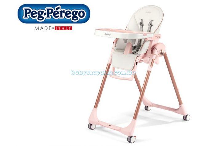 Стульчик для кормления Peg-Perego Prima Pappa Follow Me Mon Amour ����, �������� | Babyshopping