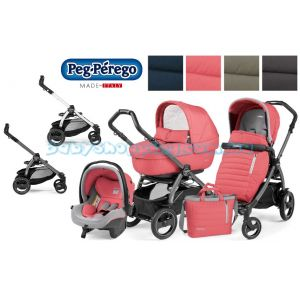 Универсальная коляска 3 в 1 Peg-Perego Book 51 S Elite Completo Modular 2018 Breeze Collection  фото, картинки | Babyshopping