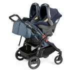 Прогулочная коляска для двойни Peg-Perego Book For Two Classico, 2018  ����, �������� | Babyshopping