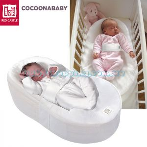Эргономический детский матрасик Cocoonababy Red Castle фото, картинки   Babyshopping