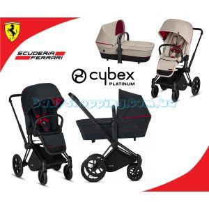 Универсальная коляска 2 в 1 Cybex Priam Lux for Scuderia Ferrari  фото, картинки | Babyshopping
