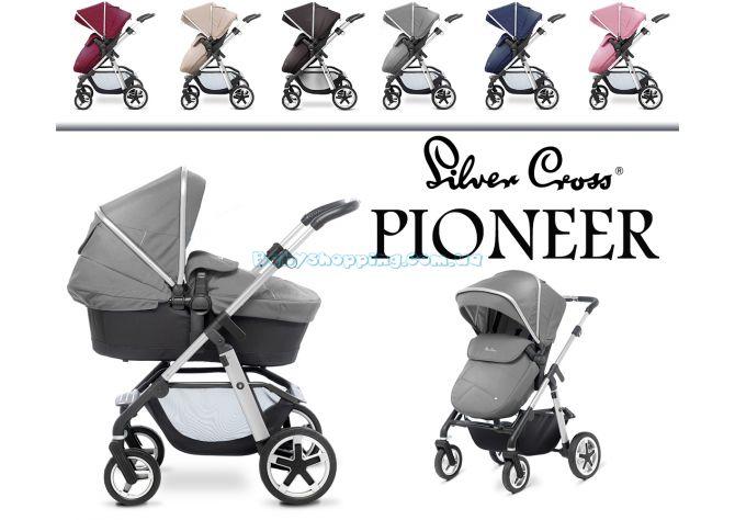 Універсальна коляска 2 в 1 Silver Cross Pioneer  ����, �������� | Babyshopping