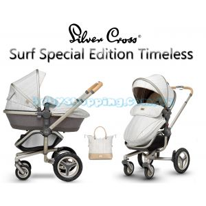 Универсальная коляска 2 в 1 Silver Cross Surf Special Edition Timeless фото, картинки | Babyshopping