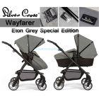 Универсальная коляска 2 в 1 Silver Cross Wayfarer Eton Grey Special Edition ����, �������� | Babyshopping