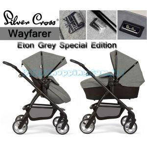 Универсальная коляска 2 в 1 Silver Cross Wayfarer Eton Grey Special Edition фото, картинки | Babyshopping