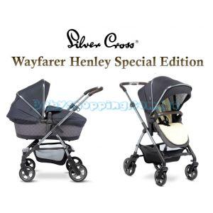 Универсальная коляска 2 в 1 Silver Cross Wayfarer Henley Special Edition фото, картинки | Babyshopping