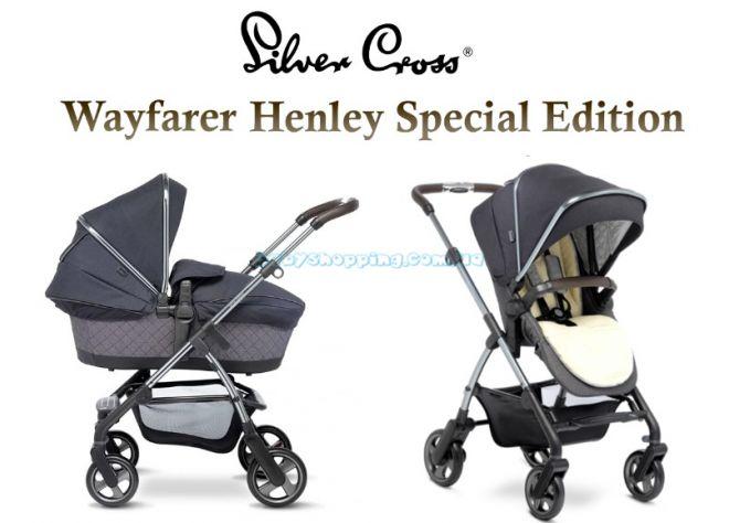 Универсальная коляска 2 в 1 Silver Cross Wayfarer Henley Special Edition ����, �������� | Babyshopping