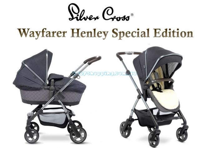 Універсальна коляска 2 в 1 Silver Cross Wayfarer Henley Special Edition  ����, �������� | Babyshopping