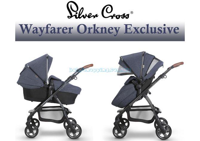 Універсальна коляска 2 в 1 Silver Cross Wayfarer Orkney Exclusive Edition ����, �������� | Babyshopping