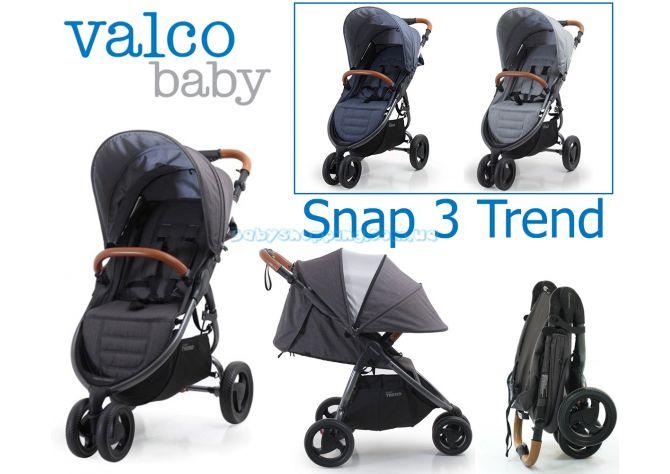 Прогулочная коляска Valco Baby Snap 3 Trend ����, �������� | Babyshopping
