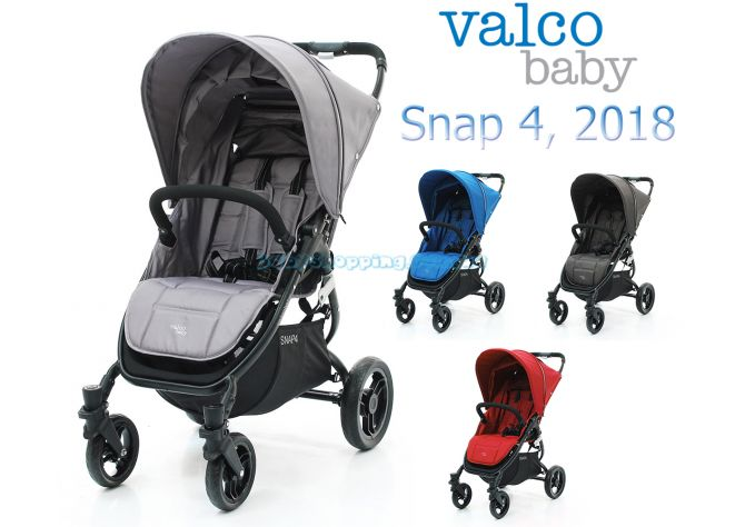 Прогулочная коляска Valco Baby Snap 4, 2018 ����, �������� | Babyshopping