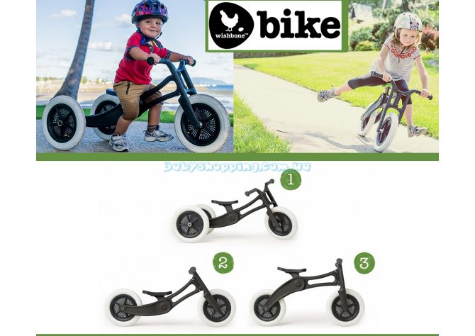 Беговел Wishbone Bike 3in1 Recycled Edition ����, �������� | Babyshopping