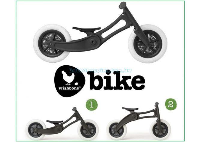Беговел Wishbone Bike 2in1 Recycled Edition ����, �������� | Babyshopping